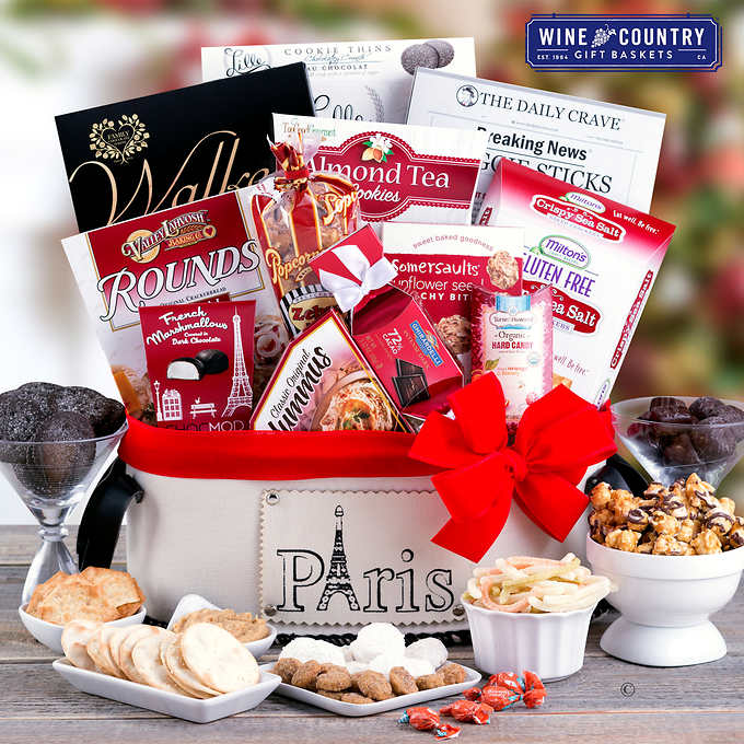 Paris In Winter Holiday Gift Basket